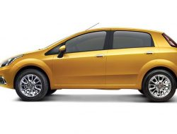 Fiat Punto Evo Yellow