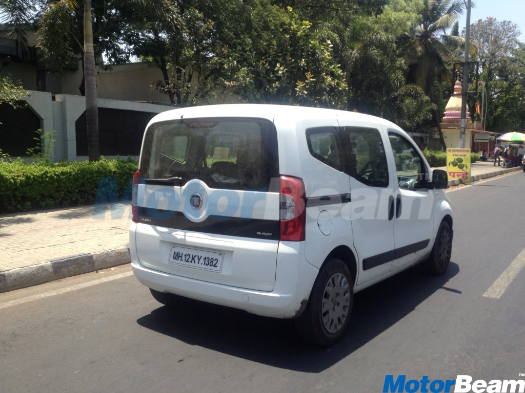 Fiat Qubo Spotted In India
