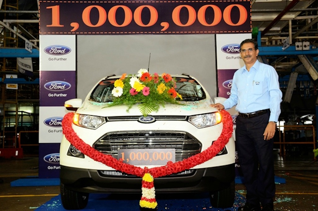 Ford 1 Millionth Vehicle Chennaic