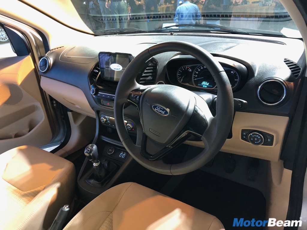 Ford Aspire Facelift Dashboard