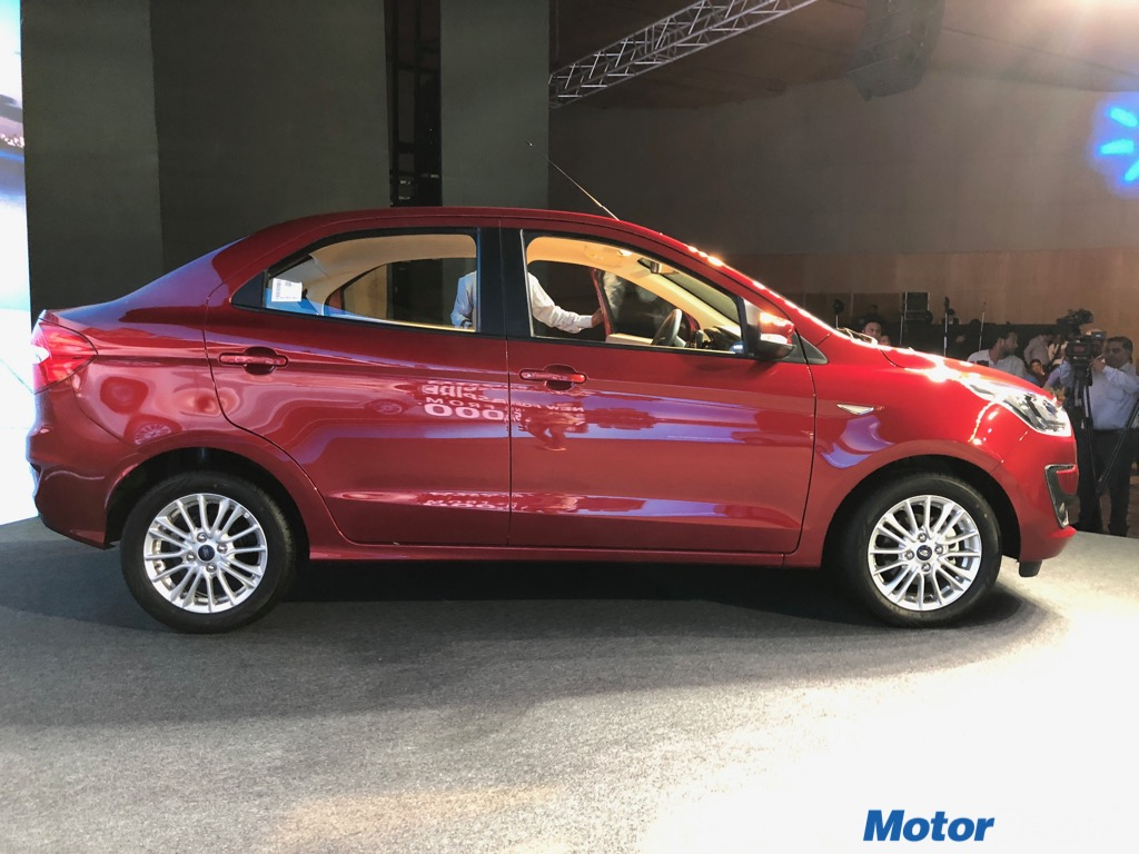Ford Aspire Facelift Launch