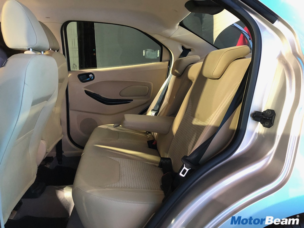 Ford Aspire Facelift Space