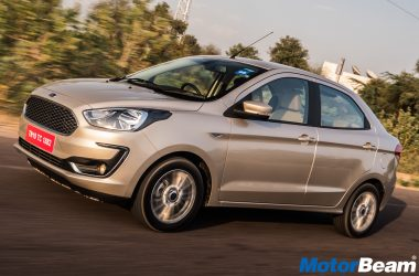 Ford Aspire Facelift Test Drive
