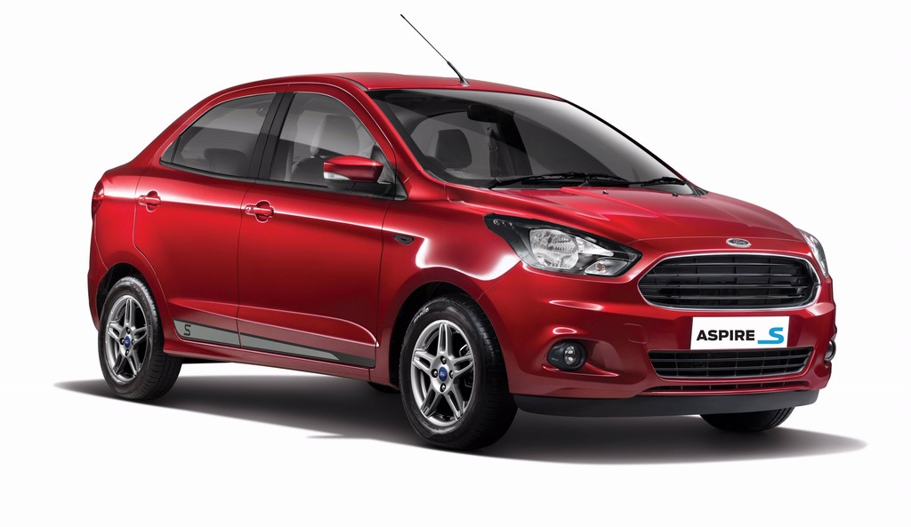 Ford Aspire Sports Edition - Ruby Red