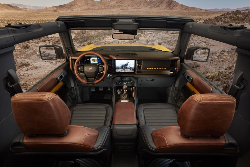 Ford Bronco Features