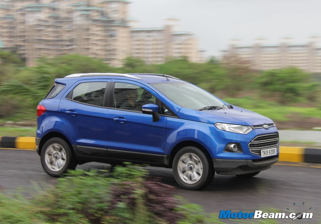 Ford Ecosport   At Test Drive Review