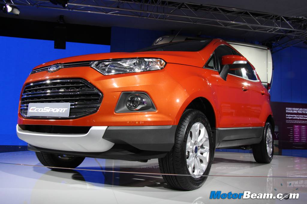 Ford EcoSport Auto Expo Display