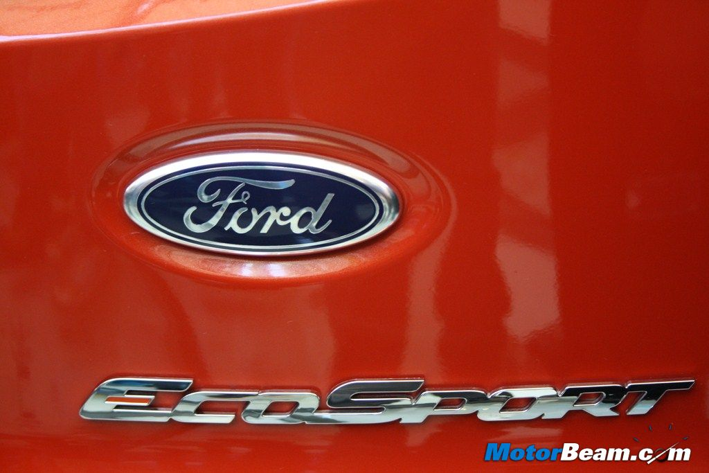 Ford EcoSport Badge