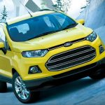 Ford EcoSport Bright Yellow Edition Japan