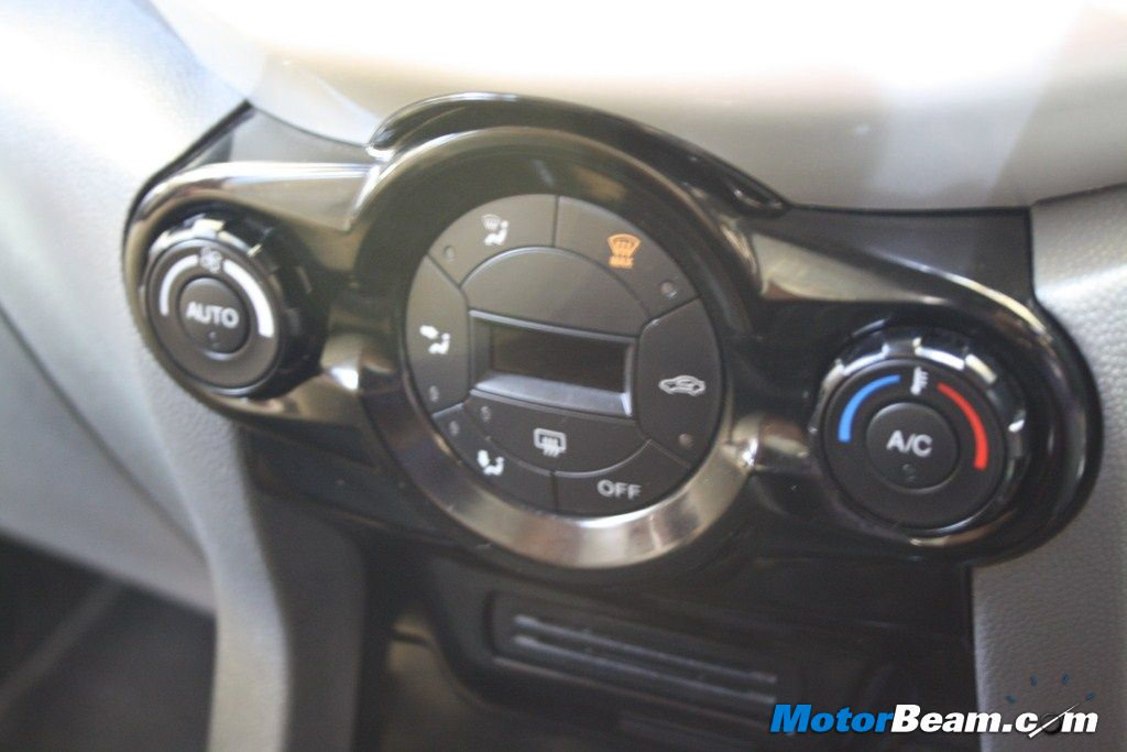 Ford EcoSport Climate Control