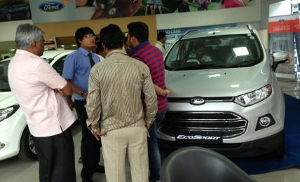 Ford EcoSport Dealership Rush
