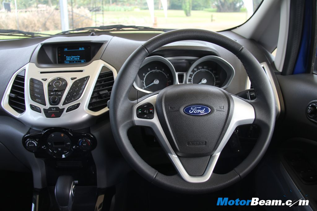 Ford EcoSport Driver View