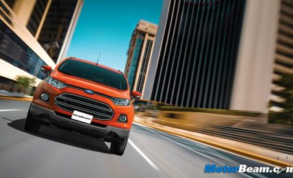 Ford EcoSport Driving Shot