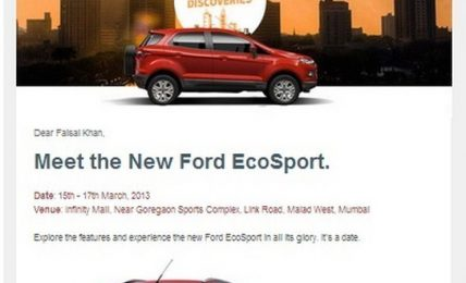 Ford EcoSport Email