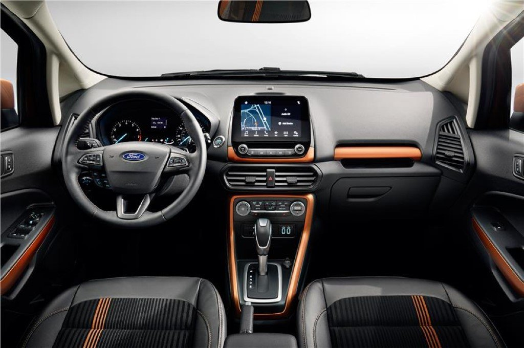 Ford EcoSport Facelift Interiors