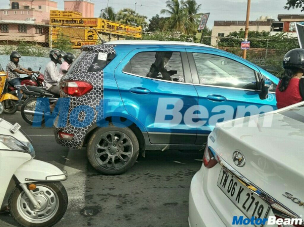 Ford EcoSport Facelift Spotted