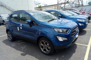 Ford EcoSport Facelift Titanium S Spotted