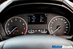 Ford EcoSport Instrument Cluster