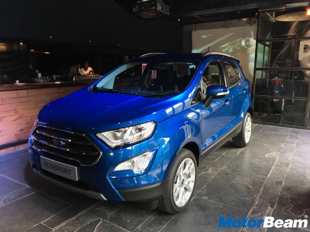 Ford EcoSport Launch Front