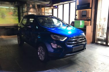 2017 Ford EcoSport Facelift Launched, Priced From Rs. 7.31 Lakhs