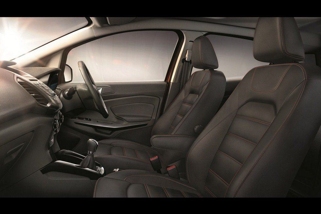 Ford EcoSport Limited Edition Interiors