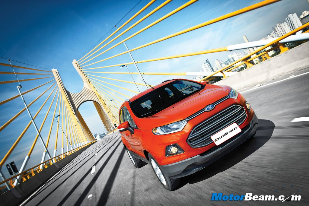 Ford EcoSport Moving Shot