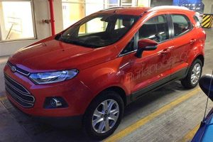 Ford EcoSport US Testing