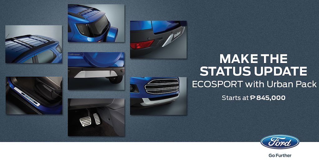 Ford EcoSport Urban Pack Philippines Accessories