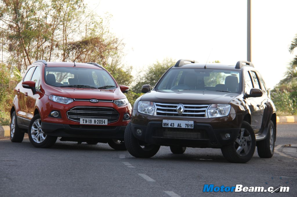 Ford EcoSport Vs Renault Duster Comparison Review