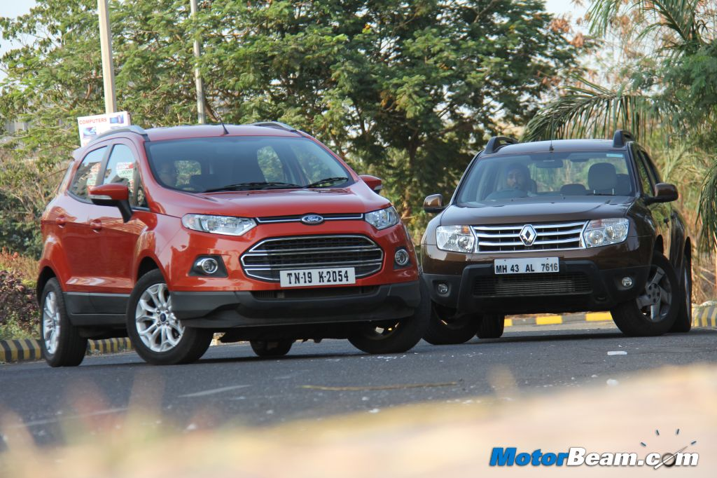 Renault Duster Vs Ford EcoSport Picture Gallery