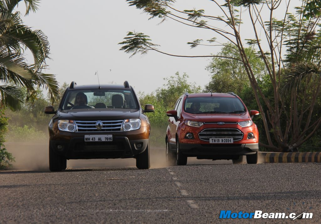 Shootout Ford EcoSport Vs Renault Duster