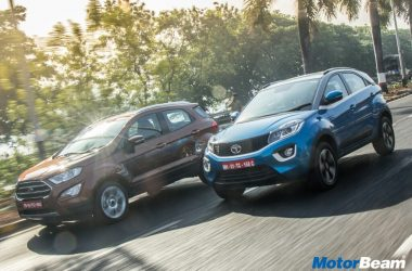 Ford EcoSport vs Tata Nexon Comparison Video