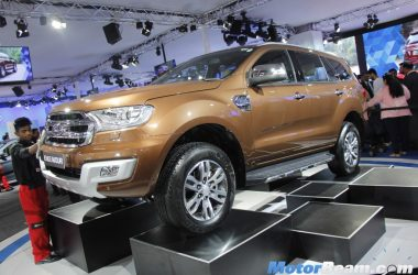 Ford Endeavour Auto Expo 1