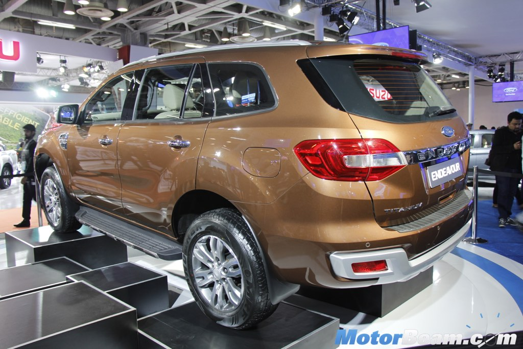 Ford Endeavour Auto Expo 3 & Ford Endeavour Brings SUV Power At 2016 Auto Expo [Live ... markmcfarlin.com
