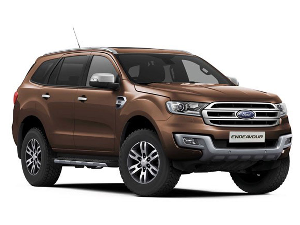 Ford Endeavour Brown
