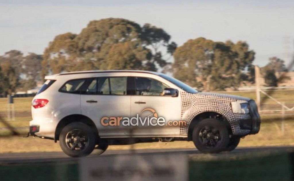 Ford Endeavour Caught Testing