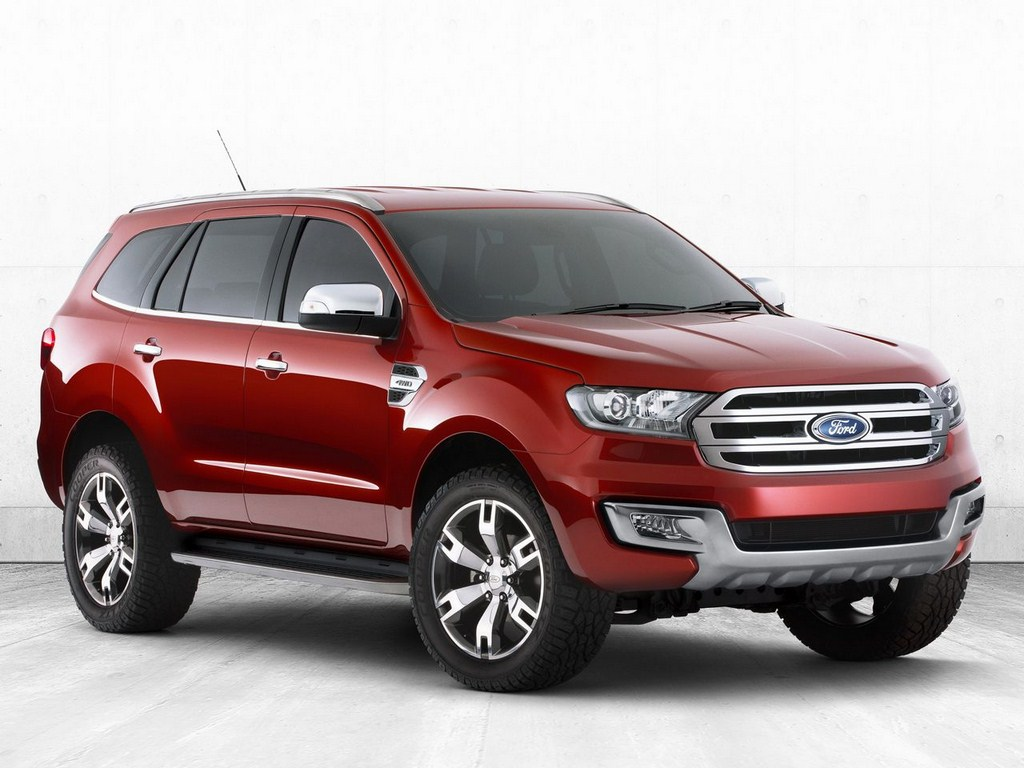 Ford Endeavour Concept Front