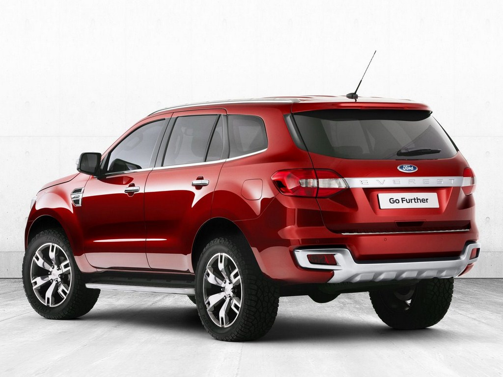 Ford Endeavour Concept Rear