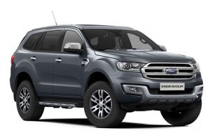 Ford Endeavour Grey