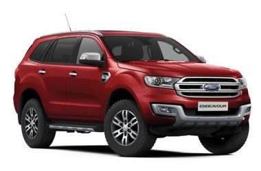 Ford Endeavour Red