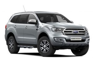 Ford Endeavour Silver