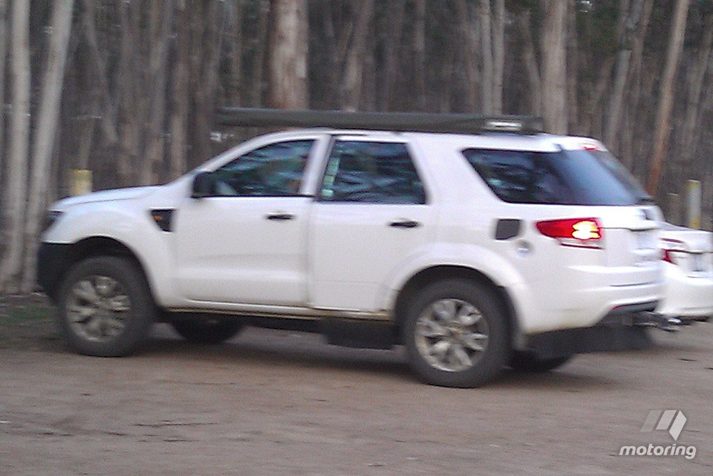 Ford Everest Test Mule