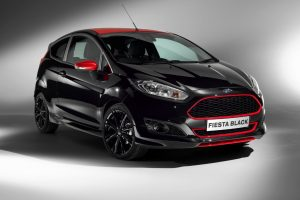 Ford Fiesta Black Edition Front
