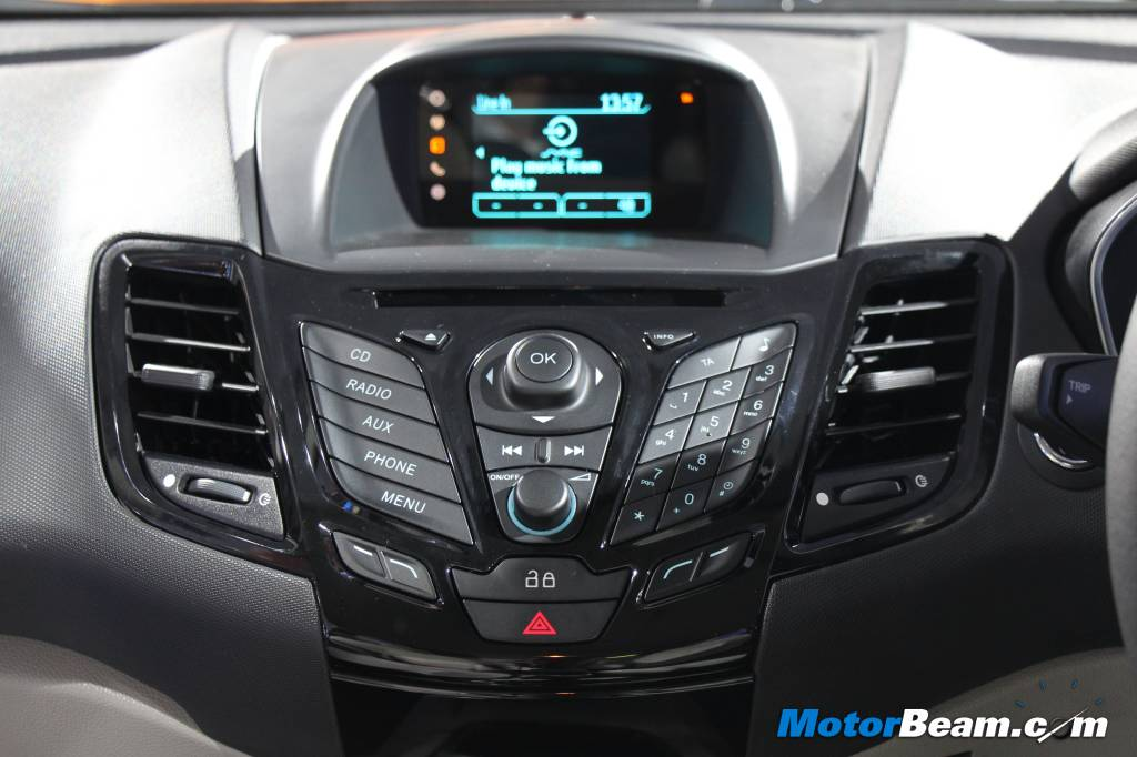 Ford Fiesta Facelift Console