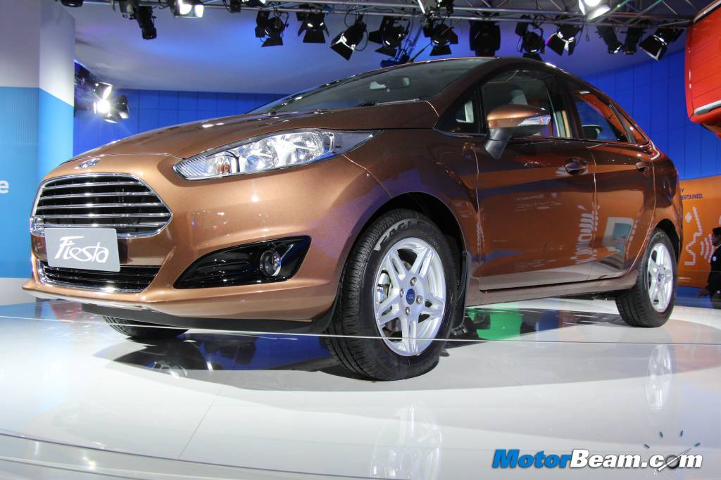 Ford Fiesta Facelift Unveil
