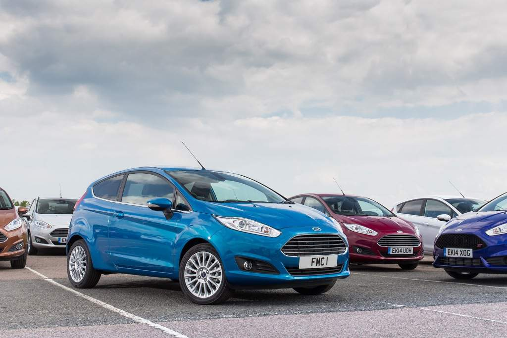 Ford Fiesta UK Bestselling Car