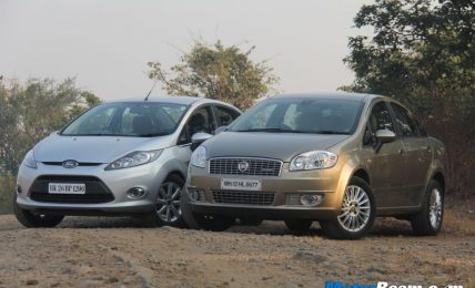 Ford Fiesta vs Fiat Linea Shootout