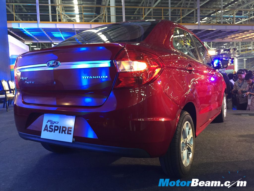 Ford Figo Aspire Rear Profile