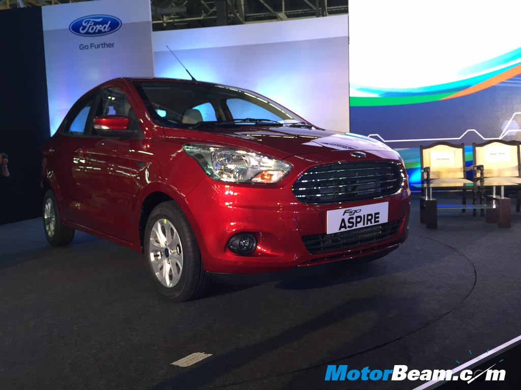 Ford Figo Aspire Unveil