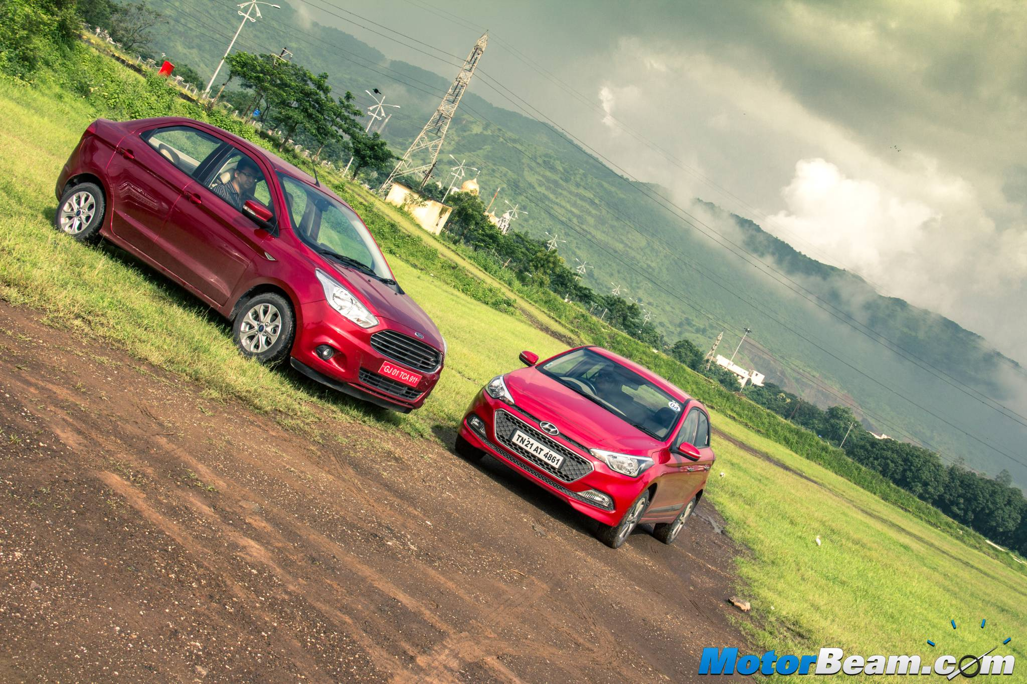 Ford Figo Aspire vs Hyundai Elite i20 Comparison